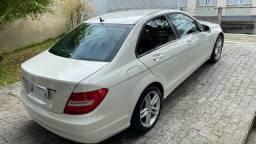 Mercedes C 180 Branca 2012 excelente estado - Barbada!!!
