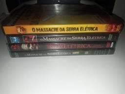 Dvd coleção o massacre da serra elétrica