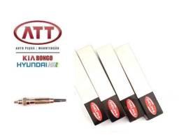 Jogo de vela aquecedora original Kia bongo e Hyundai Hr 2.5 8 válvulas