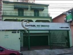 Casa Térrea comercial 4 cômodos. 6 vagas na garagem. Vila Bocaina - Mauá