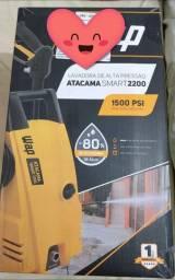 Lavadora de Alta Pressão WAP Atacama Smart 2200 Ultra 1500psi com Mangueira Desentupidora<br>