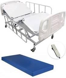 Cama Hospitalar Motorizada - Locação