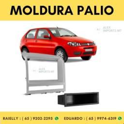 Moldura Fiat Palio / Idea / Strada / 2011 Prata 2din Moudura 2 Dim Modura 2 Dim