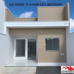 Leo vende, casa na Mangabeira com bom acabamento