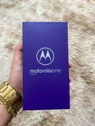 Moto One Zoom 128gb Novo (Parcelo)