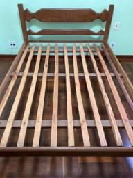 Cama / cama de casal / cama de sucupira de casal