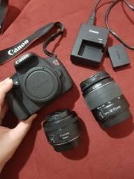 Câmera profissional Canon t5