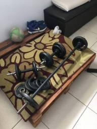 Kit musculação 400 reais