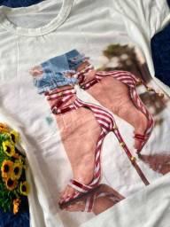 Blusas Femininas - T Shirts - Promoção