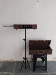 Theremin RDS Profissional c/ caixa e pedestal
