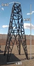 Torre de Ferro - Treliçada