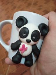Caneca biscuit panda