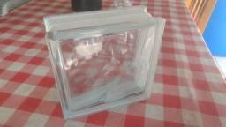 Bloco de vidro - tenho 11 peças novas