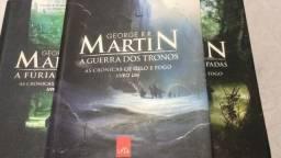 Crônicas de Gelo e Fogo - Os 3 primeiros livros