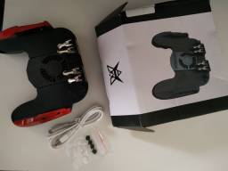 Controle L1/L2 R1/R2 com Cooler (PUBG, FREE FIRE, COD Mobile )