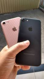IPHONE 7 32 E 128GB ROSE e BLACK.