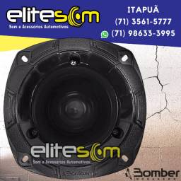 Super Tweeter Bomber Stb350 100w Rms 8 Ohms + Capacitor instalados na Elite Som