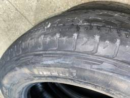 4 pneus ( 2 Pirelli, 2 Bridgestone) 225 65 17