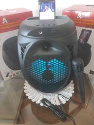 Caixa bluetooth amplificada XBASS com microfone