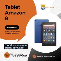 Promoção - Tablet Fire 8 Amazon Novos lacrados com 1 ano de garantia + brindes