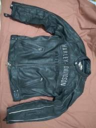 Harley Davidson jaqueta couro ventilada