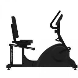 Bicicleta vertical com cadeira regulável níveis de treino garantia de um ano
