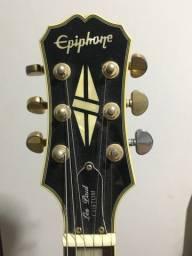 Guitarra Epiphone Custom Black (Aceitamos todos os cartões)