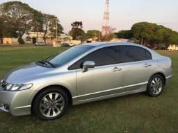 Honda Civic LXL 11/11 Prata Completíssimo Automático e Couro