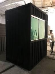 Container Guarita 2,5x1,5x2,50m Locação