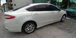 Vendo Ford Fusion 2.5 i-VCT 2014 Flex Automático - Branco Perolizado