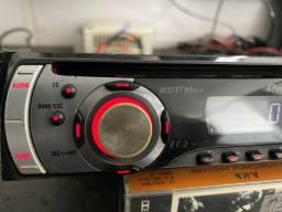 Cd radio auxiliar pioneer das antigas garantia instalado