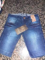 Bermuda jeans tamanho d 2 a 18 só ???59.98 ?