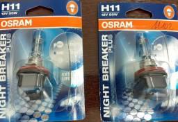 Par Lâmpada Osram H11 Nigt breaker