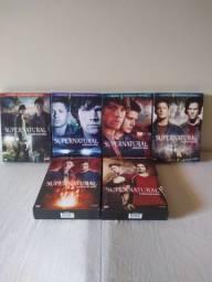 DVD?s supernatural! Novo!
