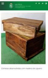Colmeia/ caixa para abelha apiário