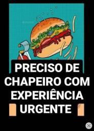 PRECISO DE CHAPEIRO COM EXPERIÊNCIA URGENTE!