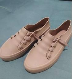 Tênis melissa original Ulitsa Sneaker nude