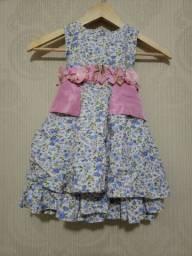 Vestido de festa infantil- Pequerruchos- Tam 2