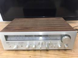 Receiver Akai A.A-1150 e Tape Deck Akai