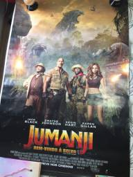 Cartaz do filme Jumanji - Bem-vindo à Selva