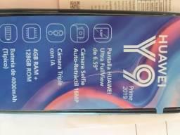 Huawei Y9 prime 2019 completo em estado de novo.