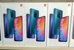 Redmi Note 9 128GB 4GB RaM 48Mp Tela 6.67 5020Mah Global Dual Sim Pronta Entrega Lacrado