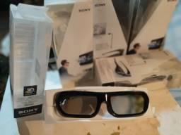 Óculos 3D ativo Sony