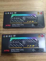 Memória 8gb DDR4 3000MHz - RGB