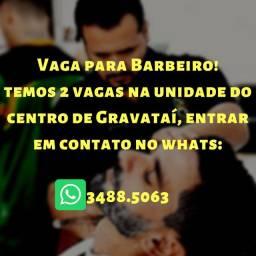 Vaga de barbeiro centro de Gravataí