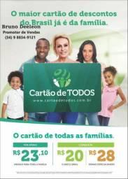 Cartão de todos, maior cartão de desconto do brasil
