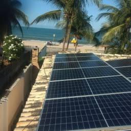 Usina fotovoltaica solar