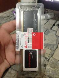 Memória DDR4 HyperX Fury, 4GB 2400MHz