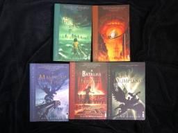Kit Completo Série Livros Percy Jackson E Os Olimpianos