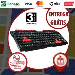 Teclado Gamer Multimídia USB